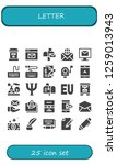 vector icons pack of 25 filled... | Shutterstock .eps vector #1259013943