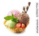 Various Ice Cream Scoops In...