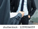 business people with documents... | Shutterstock . vector #1259036059