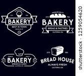 bakery logotypes set. bakery...   Shutterstock .eps vector #1259054620