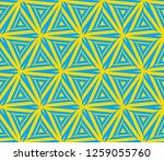 abstract repeat backdrop.... | Shutterstock .eps vector #1259055760
