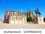 nuno alvares pereira square ... | Shutterstock . vector #1259063653