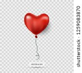 air balloon. valentines day... | Shutterstock .eps vector #1259083870