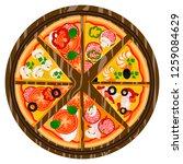 vector illustration logo for... | Shutterstock .eps vector #1259084629