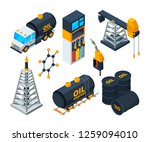 industry 3d isometric... | Shutterstock . vector #1259094010