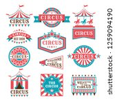 old badges and labels for... | Shutterstock . vector #1259094190