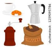 illustration icon on theme big... | Shutterstock .eps vector #1259095786