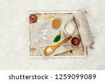 using magnesium chloride... | Shutterstock . vector #1259099089