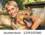 lugano  switzerland   19... | Shutterstock . vector #1259105380