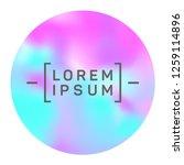 modern circle frame of...