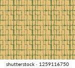 japanese kimono vector seamless ... | Shutterstock .eps vector #1259116750