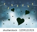 abstract pattern for love... | Shutterstock .eps vector #1259121523