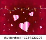 abstract pattern representing... | Shutterstock .eps vector #1259123206