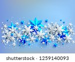 realistic shine banner with... | Shutterstock .eps vector #1259140093