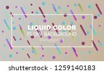 creative geometric wallpaper.... | Shutterstock .eps vector #1259140183