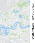 rotterdam city plan  detailed... | Shutterstock .eps vector #1259177260