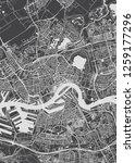rotterdam city plan  detailed... | Shutterstock .eps vector #1259177296