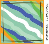 colorful wavy scarf pattern... | Shutterstock .eps vector #1259179933