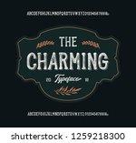 """the charming"". original... | Shutterstock .eps vector #1259218300"