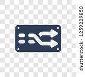 random icon. trendy random logo ... | Shutterstock .eps vector #1259229850