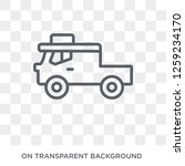 lorry icon. lorry design...   Shutterstock .eps vector #1259234170