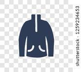 fleece icon. trendy fleece logo ... | Shutterstock .eps vector #1259234653