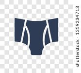 briefs icon. trendy briefs logo ... | Shutterstock .eps vector #1259234713