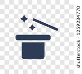 magic trick icon. trendy magic... | Shutterstock .eps vector #1259234770