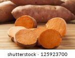 fresh organic orange sweet... | Shutterstock . vector #125923700