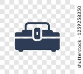 toolbox icon. trendy toolbox... | Shutterstock .eps vector #1259258350