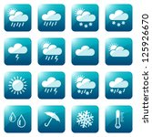 Weather And Seasons Icon Set ...