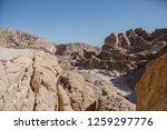 wadi watir  sinai   egypt   may ... | Shutterstock . vector #1259297776