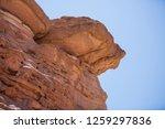 wadi watir  sinai   egypt   may ... | Shutterstock . vector #1259297836