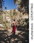 wadi watir  sinai   egypt   may ... | Shutterstock . vector #1259297863