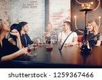 best friends boys and girls... | Shutterstock . vector #1259367466