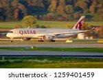 kloten  zurich  switzerland  ... | Shutterstock . vector #1259401459