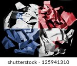 the panama flag painted on... | Shutterstock . vector #125941310