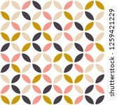 geometric seamless pattern in... | Shutterstock .eps vector #1259421229