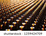 glass bottle texture. glass... | Shutterstock . vector #1259424709