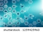 science concept   various... | Shutterstock .eps vector #1259425963