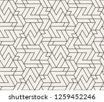 abstract geometric pattern with ... | Shutterstock .eps vector #1259452246