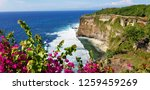 amazing view on cean waves and... | Shutterstock . vector #1259459269