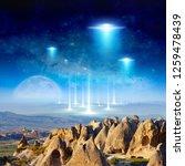 amazing fantastic background  ... | Shutterstock . vector #1259478439