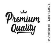 premium  quality  hand written...   Shutterstock .eps vector #1259482576