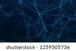 abstract digital background.... | Shutterstock . vector #1259505736
