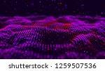violet computer technology... | Shutterstock . vector #1259507536