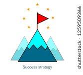 growth mindset  success...   Shutterstock .eps vector #1259509366