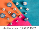 ecology recycling concept. many ...   Shutterstock . vector #1259511589
