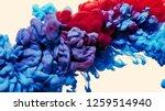 splash of paint. abstract... | Shutterstock . vector #1259514940