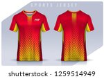 t shirt sport design template ... | Shutterstock .eps vector #1259514949